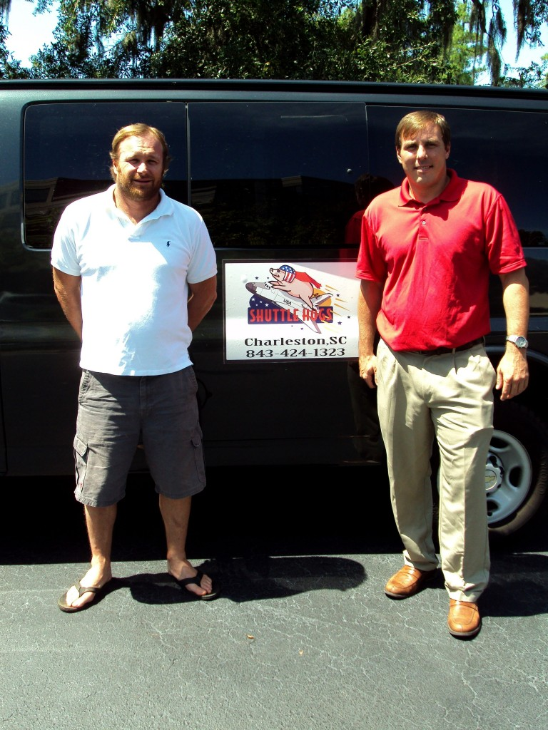 Shuttle Hogs Owners Jason McGehee and Mick Jewel