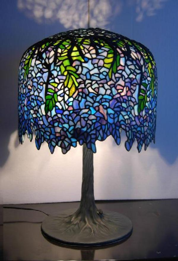1000 Images About Stained Glass Lamps On Pinterest