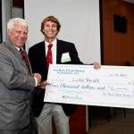 Luke Varadi won 2nd place at YEScarolina's Business Plan Competition.
