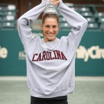 Honorary South Carolinian Andrea Petkovic took home the 2014 Family Circle Cup trophy.