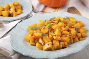 Roasted Pumpkin With Sage
