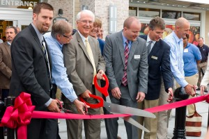 April Mayor Cronin Cuts the Ribbon