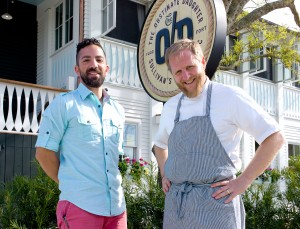 MARCH Jonathan and Chef Jacques Exterior