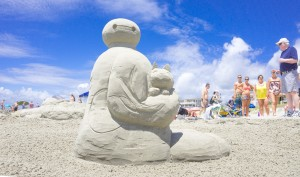 """""""Because these elaborate sand sculptures demand months of preparation, out-of-state contestants often make special trips to Isle of Palms throughout the year to practice with the specific granulation and weight of the island sand."""""""