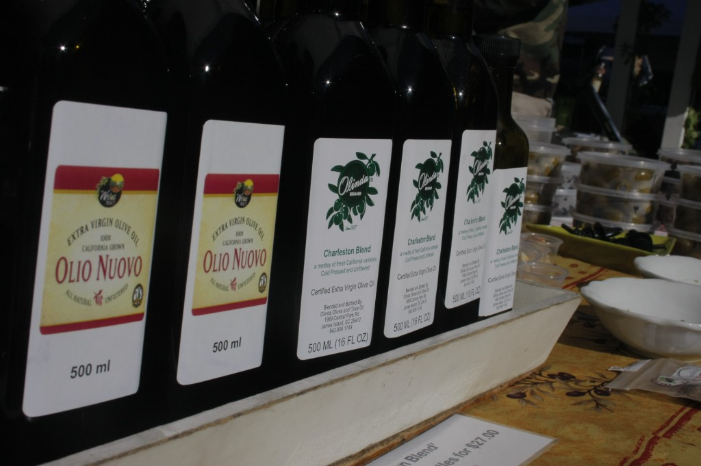Olinda Olives & Olive Oil will be available to buy at the market.
