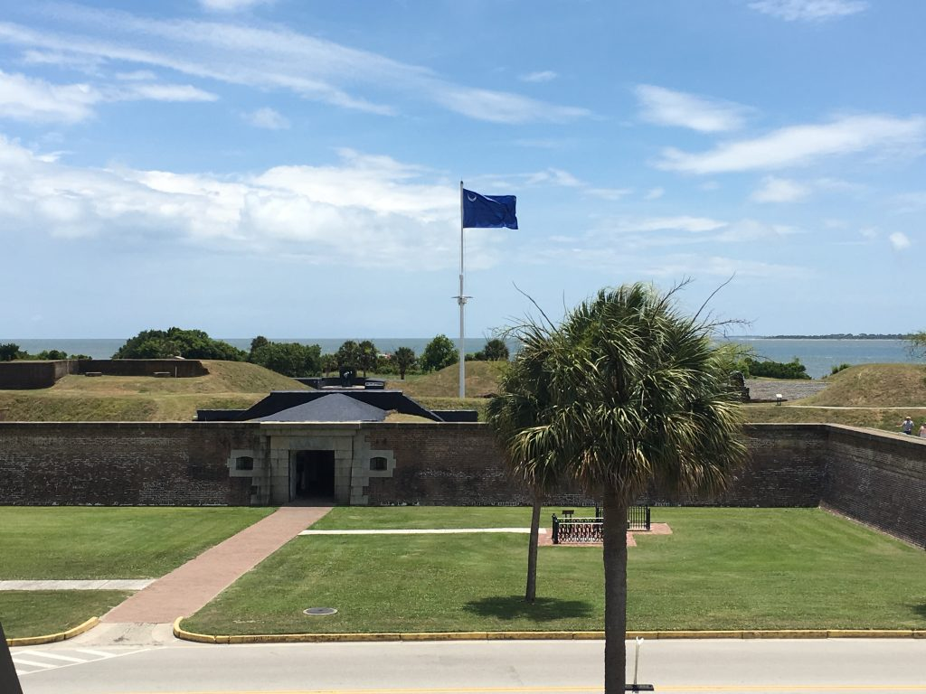 Fort Moultrie National Monument Quarter, scheduled to be released at Fort Moultrie on Nov. 17, 2016.